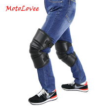 Riding Knee Pads Warmer Motorcycle Warm Kneepad Motorbike Windproof Winter Protective Guard PU Leather Waterproof 2Pcs/Lot