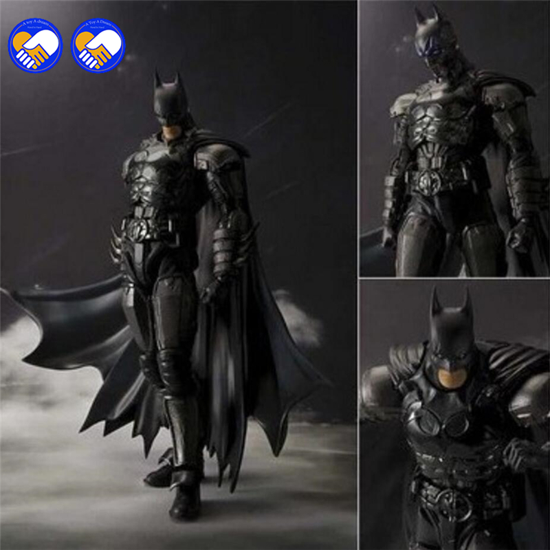A toy A dream 2016 New Original Box Bandai Batman Action Figure Movie Cartoon Bat-Man SHF 16cm PVC Model Anime Model Toys shfiguarts batman injustice ver pvc action figure collectible model toy 16cm kt1840