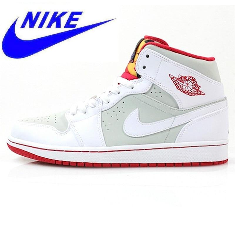 c04f00f61ad Original Nike Air Jordan 1 Mid Hare AJ1 Bugs Bunny Women s Basketball Shoes  Sneakers
