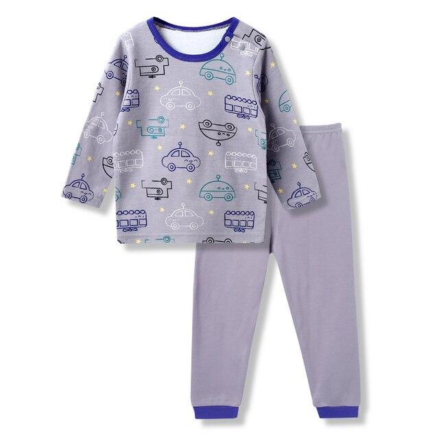 c367375d7 Autumn Winter New Born Baby Boy Clothes Pajamas Set Newborn Baby ...
