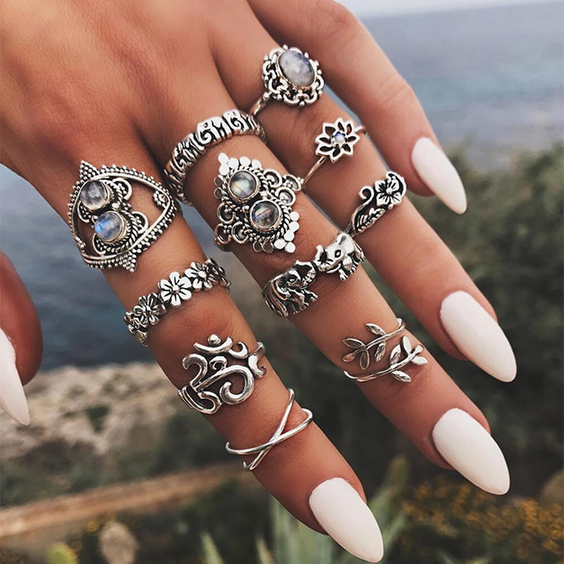 Bohemian Style Rings For Womens