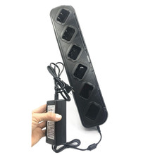 Multi carregador rápido de seis vias da bateria para rádios baofeng BF 888S BF 666S BF 777S BF C1 carregador móvel