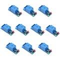 10 unids 1 Channel 5 V Módulo de Relé de Bajo nivel para SCM de Control Del Aparato Electrodoméstico Para Ar-duino