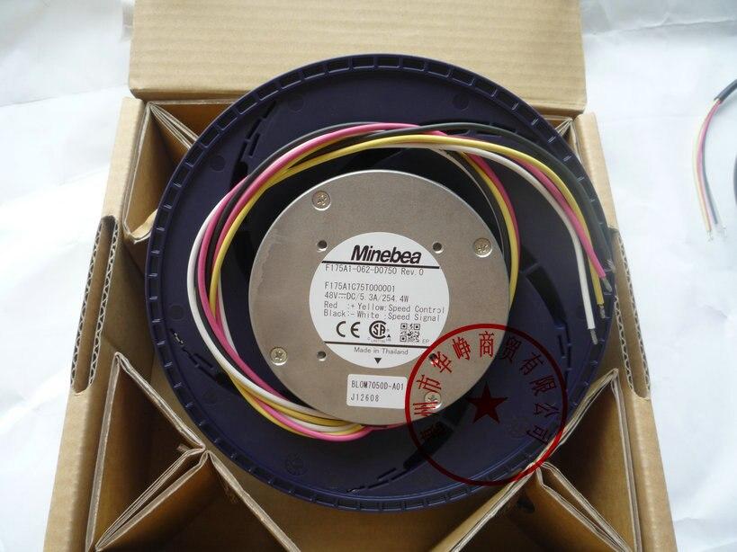 New Original NMB F175A1-062-D0750 175*69.3MM 48V 5.5A cooling fan new original nmb 4715sl 05w b60 dc24v 1 2a 12038 inverter waterproof cooling fan