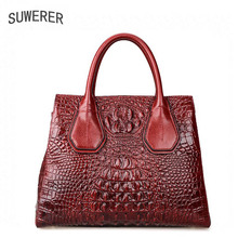 Genuine Leather purse 2017 new luxurious embossed purse Fashion Shoulder Messenger Bag Women's purses