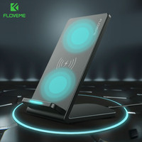 FLOVEME QI Fast Wireless Charger For IPhone X 8 8 Plus For Samsung Galaxy S9 S8