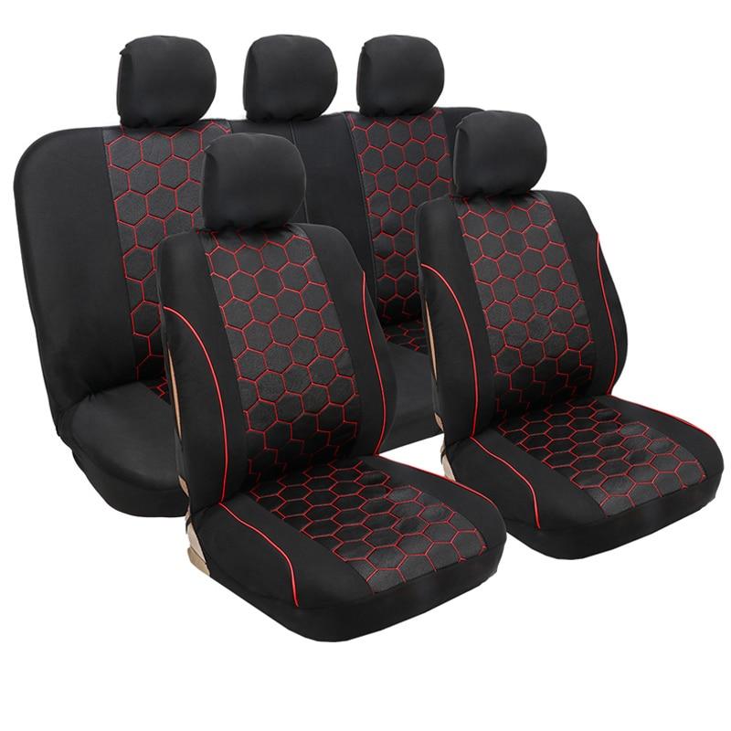 Auto Sitzbezüge Set Universal-Fit Die Meisten Auto Seat Protector für Renault Alaskan CAPTUR clio Sandero Stepway symbol TALISMAN modus