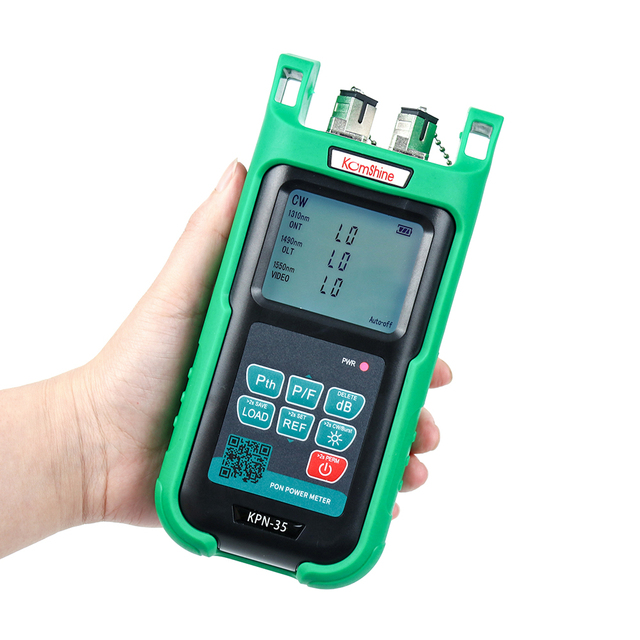 PON Fiber type KOMSHINE KPN-35 PON Optical Power Meter for EPON GPON APON, ONT for 1310, OLT for 1490/1550nm