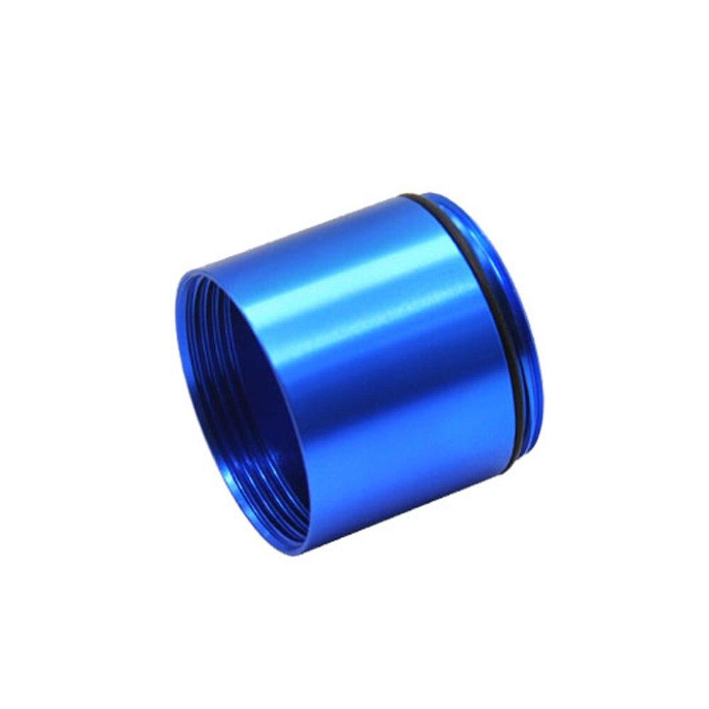 """HORNET Stash Jar-герметичный, устойчивый к запаху алюминиевый контейнер для специй с 2 слоями, чехол для табака """"вы можете собрать его самостоятельно"""" - Цвет: Blue"""
