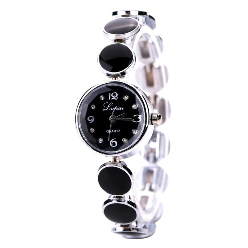 LVPAI Women'S Bracelet Watch Steel Quartz Movement