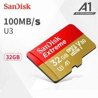 Original SanDisk Extreme Micro SD Card 32GB Class 10 U3 MAX 100MB S 32gb Micro SD