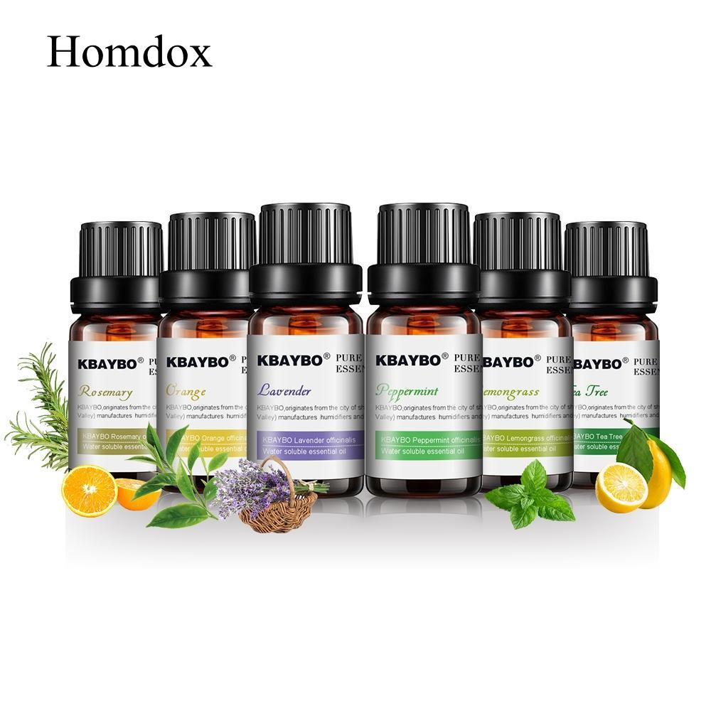 tree tree oils diffusers lavender KBAYBO rosemary oil aromatherapy for Orange tea tea lemongrass essential Pure 10ml*6bottles pear style silicone tea bag orange