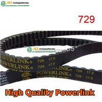 GATES Powerlink 729 17 5 30 QMB139 Engine Drive Belt For Chinese Scooter Motorcycle ATV GO