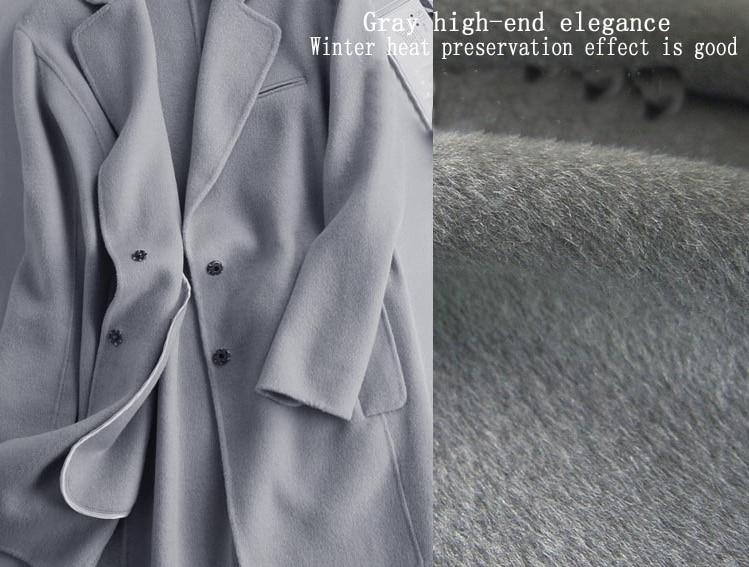 Wool Cashmere Coat Fabric | Down Coat