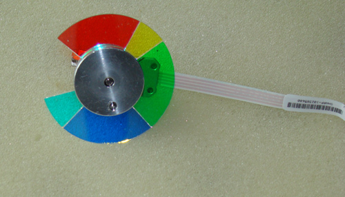 Projector Color Wheel For XR-D2780XA XG-D300XA XG-D3080XAXR-D255XA xr e2530sa color wheel 5 color beam splitter used disassemble