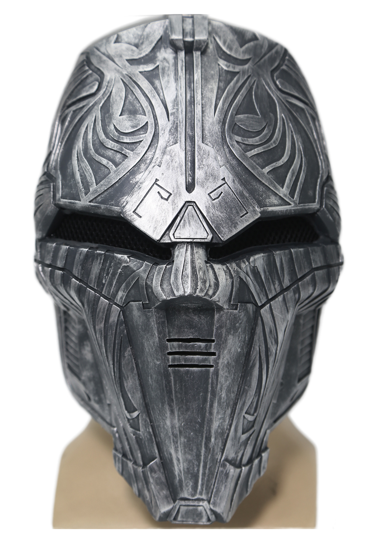 ФОТО Sith Acolyte Mask Halloween Masks  the New Movie Star Wars Cosplay Helmet Props XCOSER Custom Made