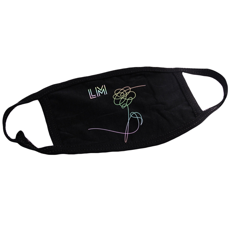 BTS Mouth Mask Love Myself Face Respirator Muffle 2018