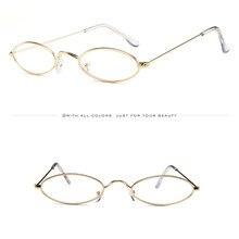 Летние модные мужские и женские ретро маленькие овальные солнцезащитные очки с металлической оправой тонированные очки круглые Поляризованные Ретро 3,4