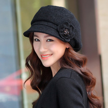 High Quality Knitted Hat Wholesale Autumn Winter Newly Trend Korean Beret Caps L