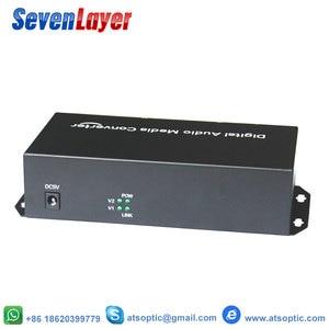 Image 2 - 2ch dengeli XLR ses fiber optik alıcı verici ve alıcı üzerinden dengeli ses fiber ses dijital fiber ortam dönüştürücü