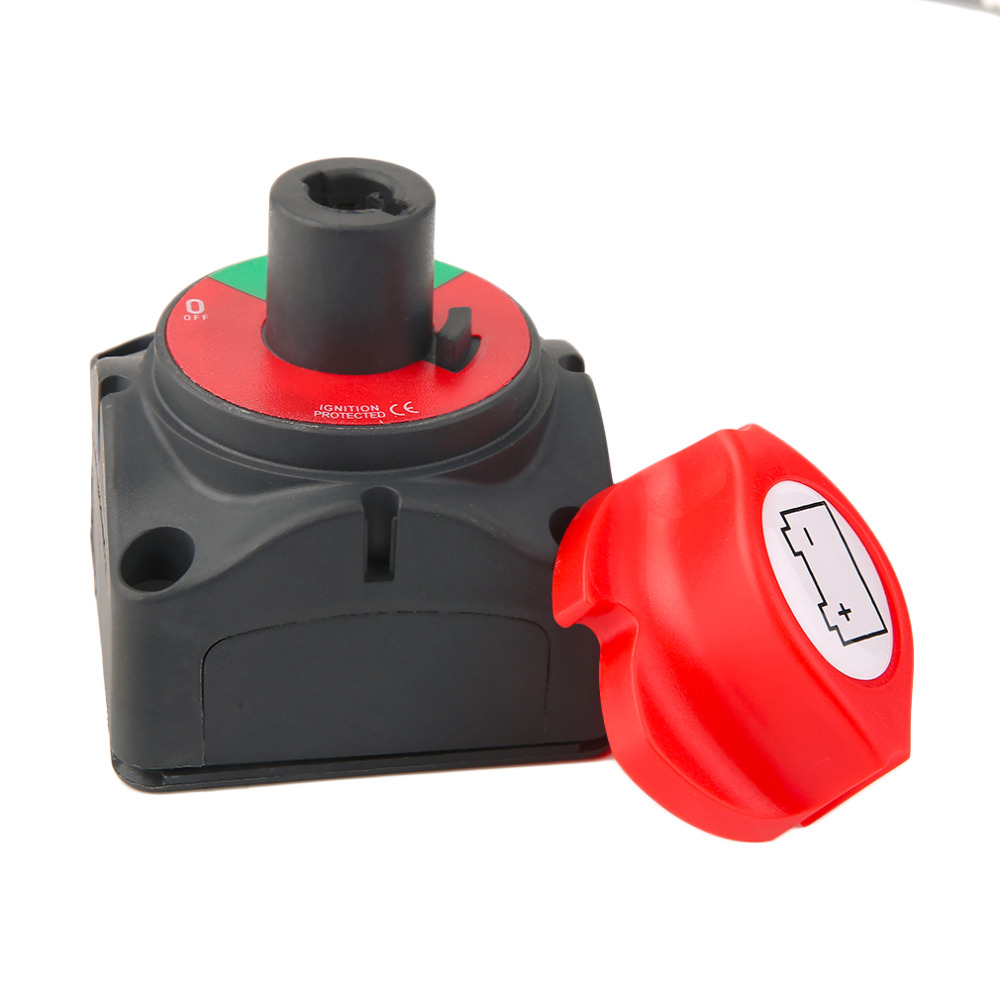 12V24V Car Marine Removable Batteries Isolatoe Cut Off Kill Switch On Off Suitable for Marine Applications