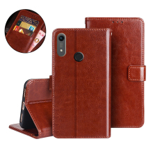 Honor 8A Case JAT-LX1 Flip Luxury Wallet PU Leather Phone For Huawei 8 A Honor8A On Cover