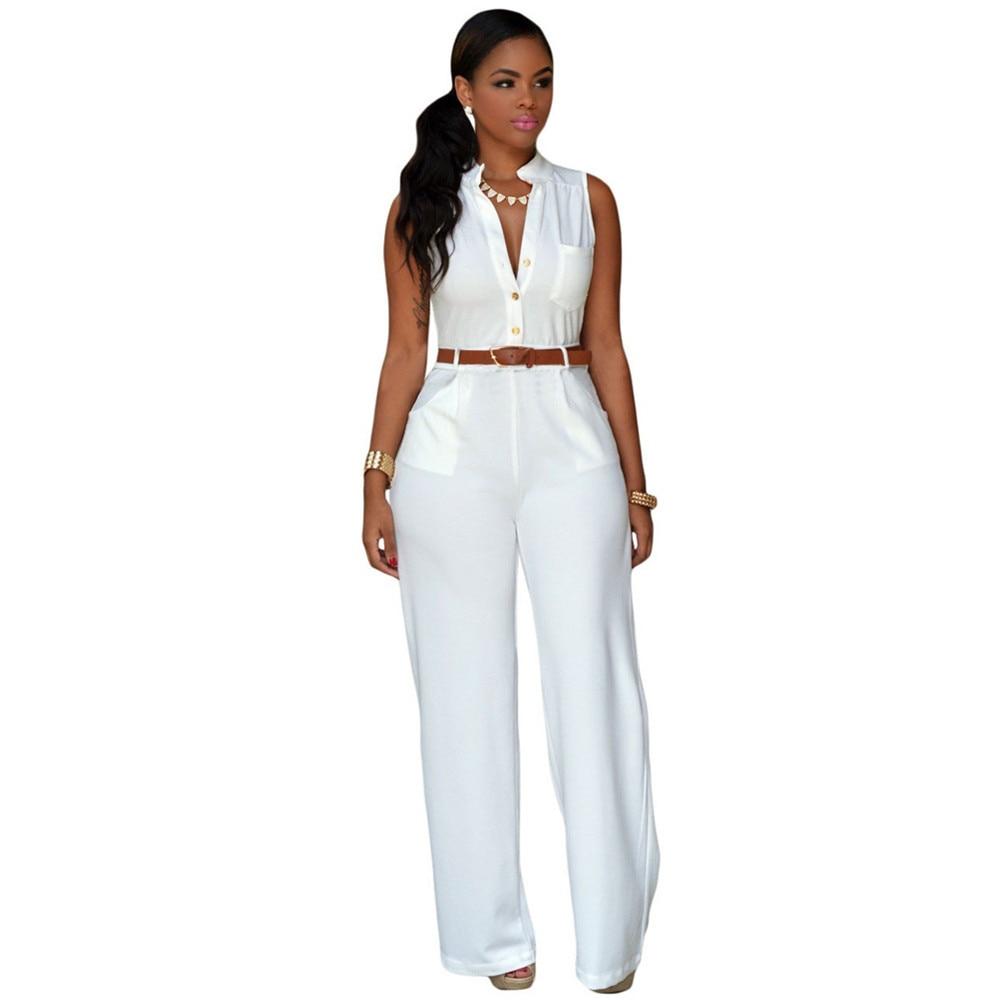 Online Get Cheap White Pants Jumpsuits for Women -Aliexpress.com ...