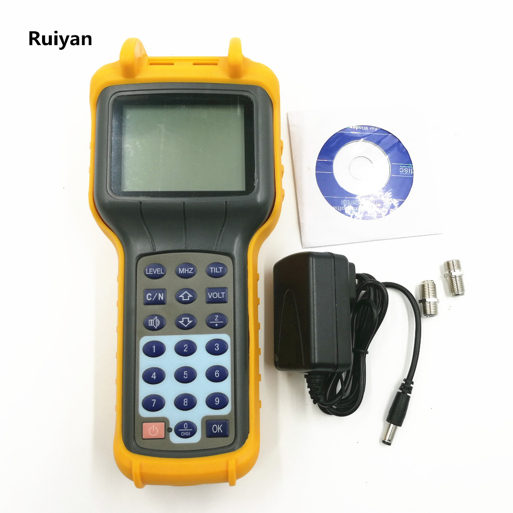 New RY S110D CATV Cable TV Handle Digital Signal Level Meter DB Tester 5 870MHz