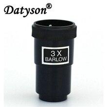 """Datyson 3X Barlow Lens Caixa De Plástico para 1.25 """"Padrão Ocular do Telescópio Astronômico Ocular 5P0026"""