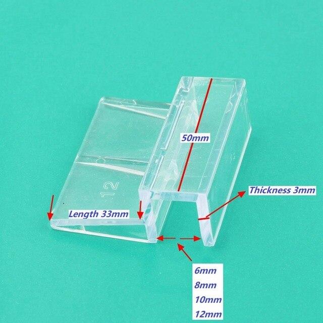 10 stücke Hohe Festigkeit Acryl Halterung Ständer Für Aquarium Abdeckung Aquarium Unterstützung Halter Hause Haustiere Liefert DIY Armaturen