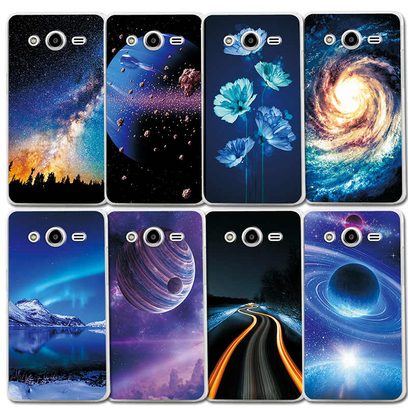 Case For Samsung Galaxy core2 core 2 SM G355H Brilliant aurora Color TPU Phone Case Bumper Coque G355M SM-G355h/ds Duos 4.5 inch