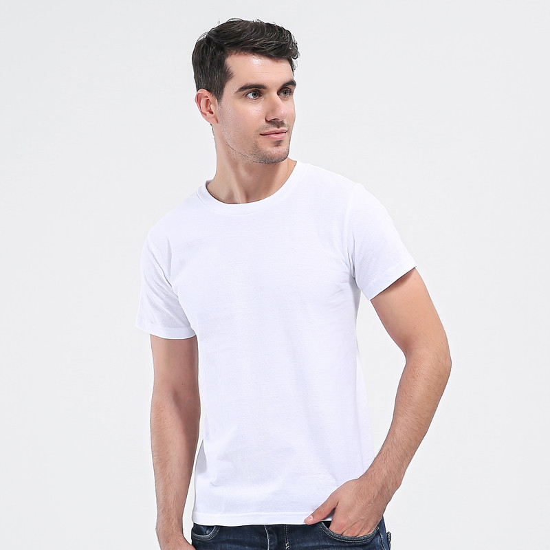 2017 Nieuwe mode straat zonlicht casual 100% katoen t-shirt merk - Herenkleding