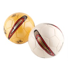 720fb44ff Genuine Seamless Professional Football Soft leather Soccer ball Match  Training Standard Game Ball For Children and. 2 Colors Available