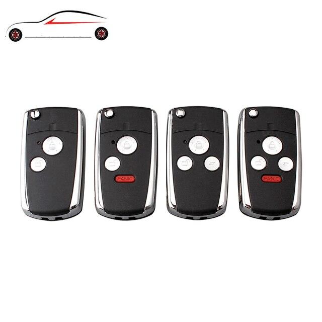 GORBIN 2/3/4 botones Nuevo estilo Flip plegable llave funda sin llave funda Fob reemplazo para HONDA acuerdo CRV cívica odisea piloto