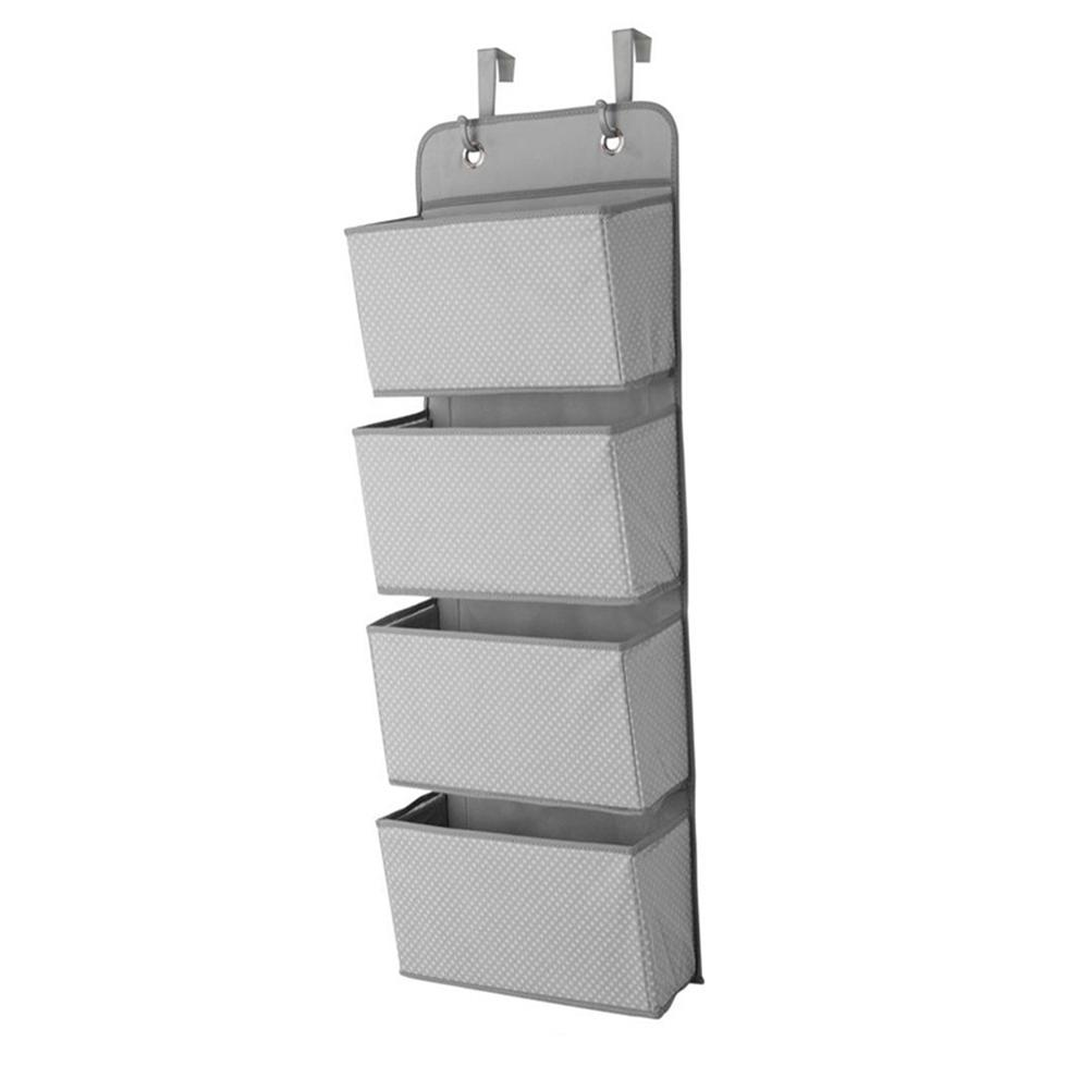 Multi Functional 4 Compartment Door Wardrobe Storage Bag