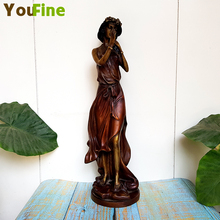 Bronze pure copper oriental classic figure statue Music character home decoration collection ornaments
