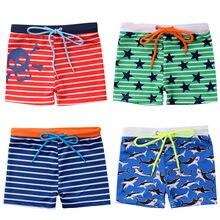 b589405514 Hot Summer Toddler Kids Baby Boys Swimsuit Shark Stars Stripe Print Shorts  Pants Swimming Trunks Beachwear