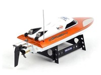 Free shipping 20km/h high speed 46cm Large scale rc boats 7010 2.4G 4CH remote control boat speedboat sailing toys