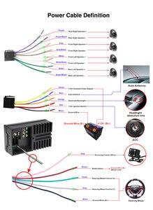 Image 5 - Автомагнитола Hikity, 2 din, RDS, GPS, навигация, FM, Bluetooth, мультимедиа, видео плеер с микрофоном, дистанционное управление, стерео