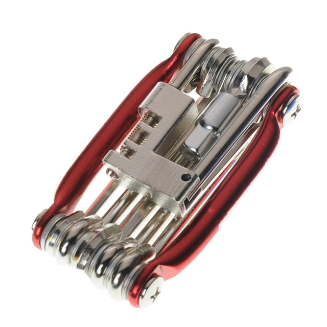 Fahrrad Werkzeuge Reparatur Set 15 In 1 Bike Repair Tool Kit Schlüssel Schraubendreher Kette Carbon stahl fahrrad Multifunktions Werkzeug