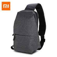 214630644f39 Оригинальный Xiaomi открытый рюкзак 4L полиэстер Sling Bag регулируемый  ремень Спортивные сумки для кемпинга Пеший Туризм