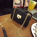 New 2017 Fashion Women Black Chain CrossBody Bag Female Shoulder Bags Party Purse Clutch Small Bag Women Messenger Bags