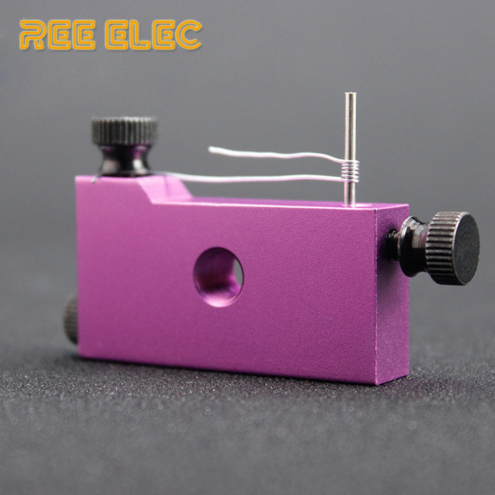 REE ELEC Mini Coil Jig 5 In 1 Atomizer Prebuilt Coil Tool Vape Pen RDA RDTA Atomizer Accessories DIY Heating Wire Wick