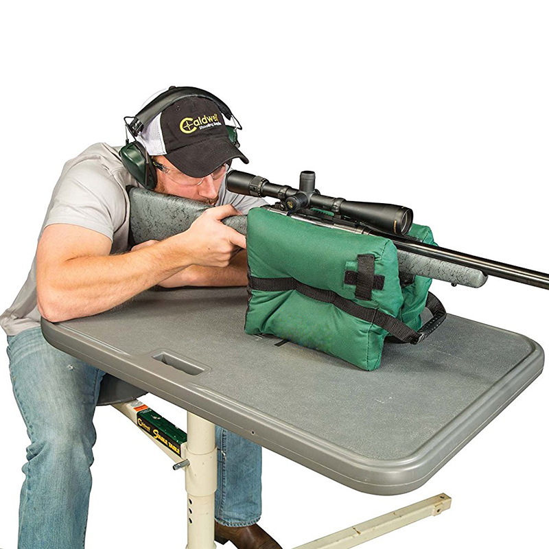 600D Oxford Cloth Green Tack Driver Hunting Shooting Bag Gun Rest Target Sports Rifle Bench Unfilled Sand Gun Accessories