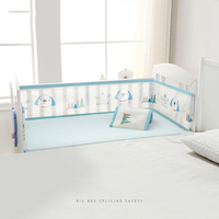 Baby Breathable Mesh Crib Bumper Mesh Baby Bedding Set Croth To Cot Sets Bed Around Protector