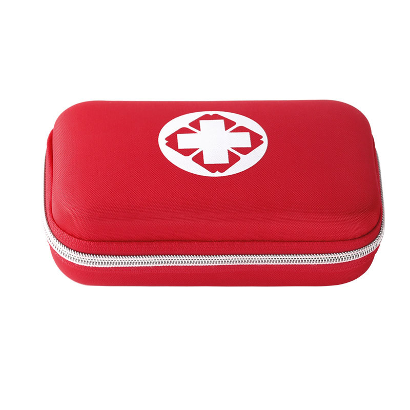 Emergency kits first aid kit outdoor survival travel hiking medical emergency treatment pack set EVA pouch bag 18 kinds/pack outdoor survival 12 in 1 emergency bag first aid kit bag middle size red emergency survival medical kit treatment pack