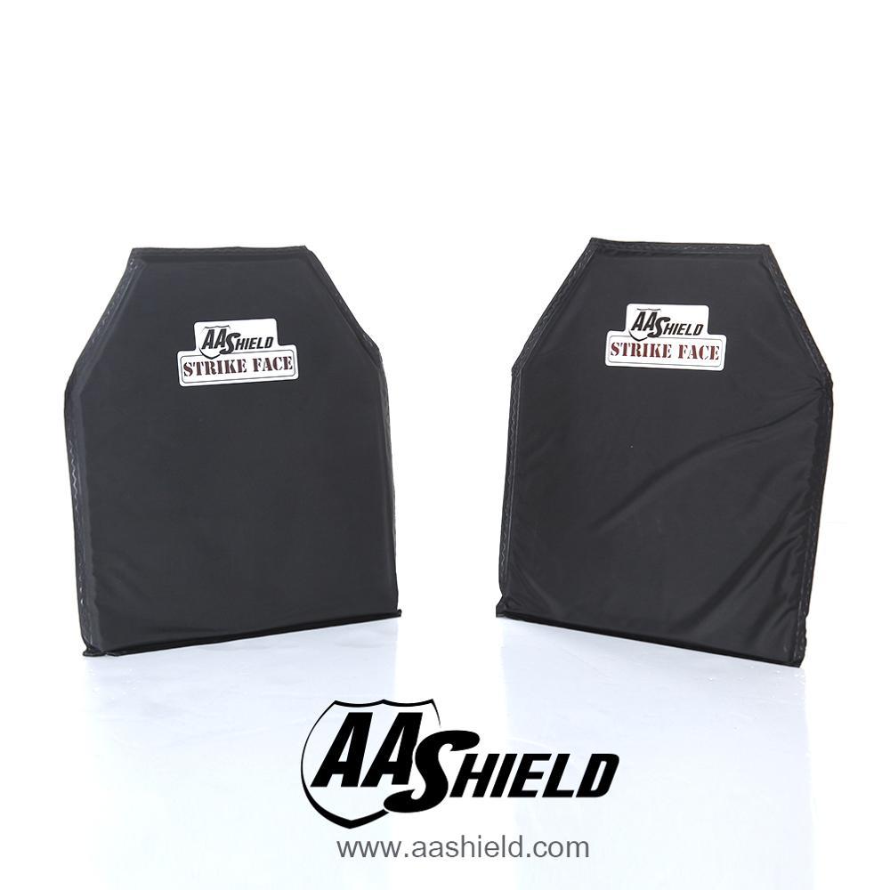 AA Shield Bullet Proof Soft Armor Panel Nano Black Polyurethane Resin Body Armor Plate Aramid NIJ