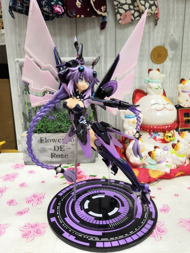 Hyperdimension Neptunia Purple Heart Action Figures Toy Model 35cm 1