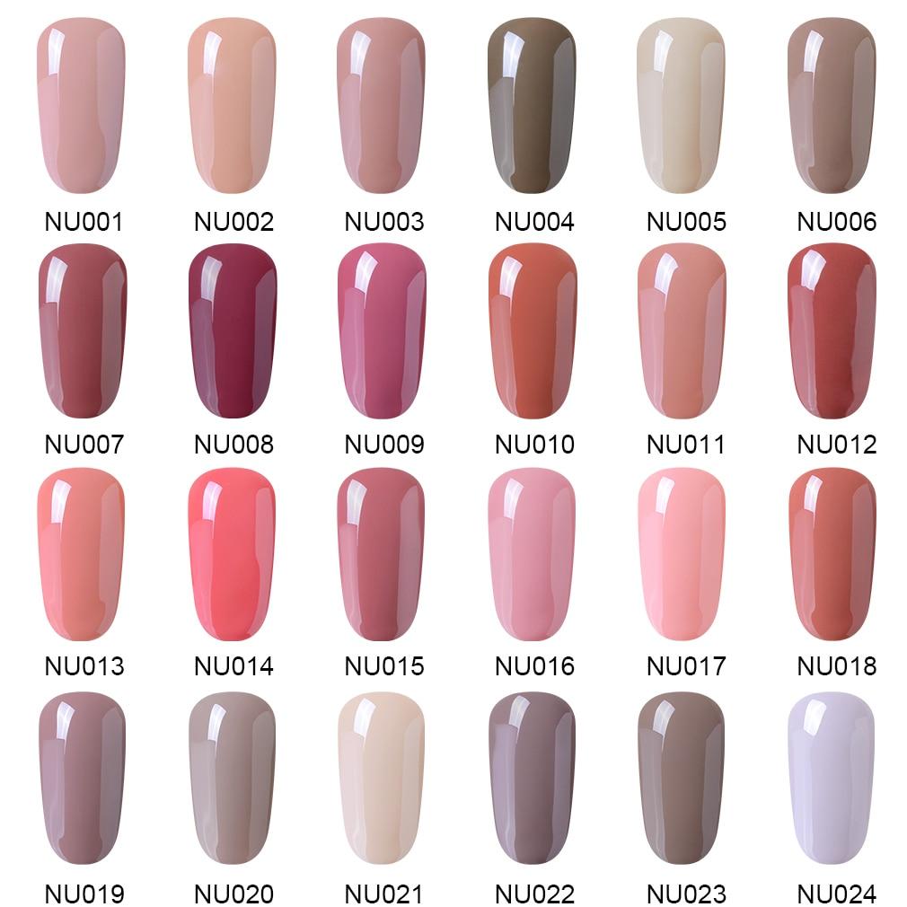 Image 5 - Elite99 Nude Color 10ml Gel Polish Vernis Semi Permanent UV Gel For Nail Art Gel Varnish Soak Off Nail Primer Gel Lacquer-in Nail Gel from Beauty & Health