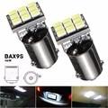 Bax9s h6w 1206 SMD 9 LED Bombilla para coche Marcos de matrícula Mapas puerta lámpara de luz dc12v blanco puro 6000 K car styling